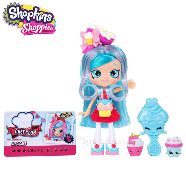 *Shopkins Chef Club Shoppies  - Кукла Jessicake 56268