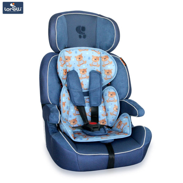 Lorelli - Стол за кола NAVIGATOR BLUE CUTE BEARS (9-36kg) 10070901859