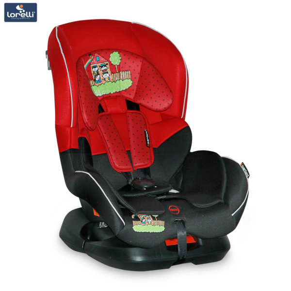 Bertoni - Стол за кола CONCORD RED&BLACK FAMILY (0-18kg) 10070161856