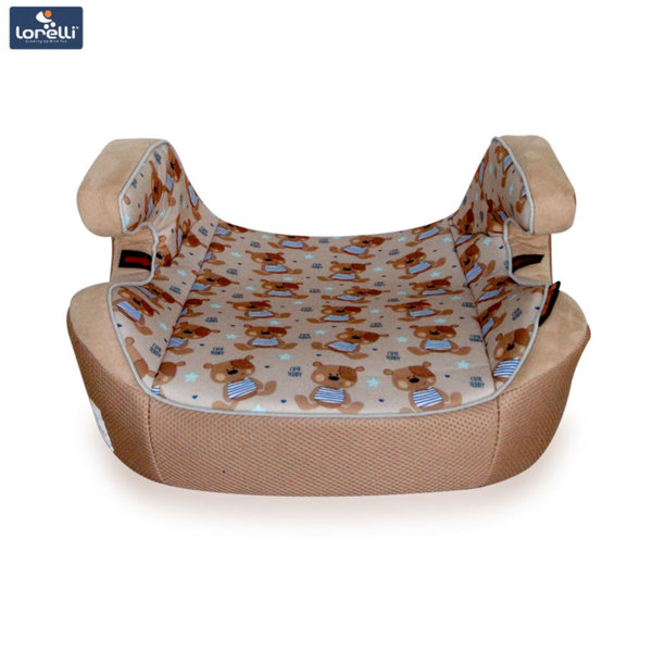 Lorelli - Детска седалка за кола VENTURE BEIGE CUTE BEARS (15-36kg) 10070911858