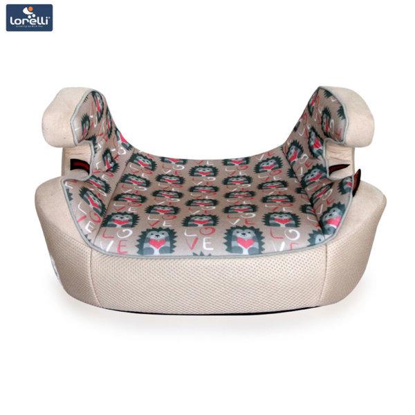 Lorelli - Детска седалка за кола VENTURE BEIGE HEDGEHOGS (15-36kg) 10070911860