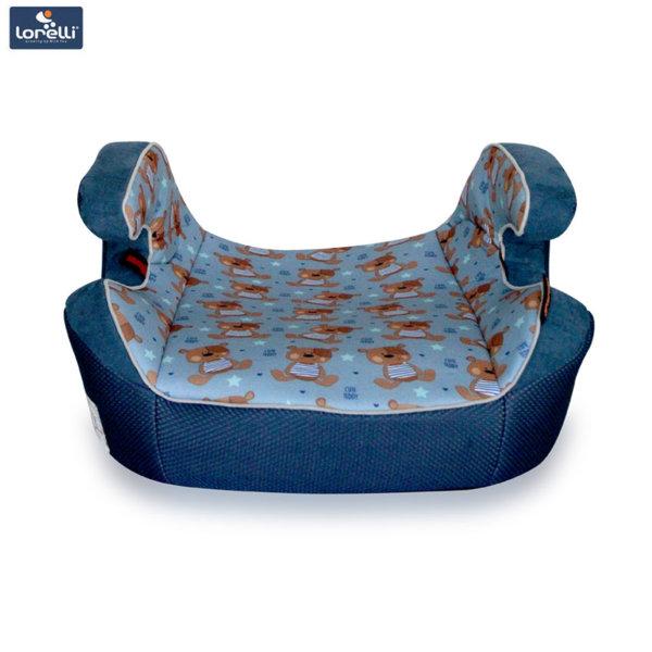 Lorelli - Детска седалка за кола VENTURE BLUE CUTE BEARS (15-36kg) 10070911859