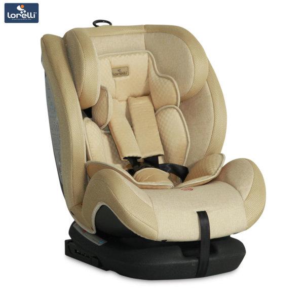 Lorelli - Стол за кола RIALTO Isofix BEIGE (0-36kg) 10071151840