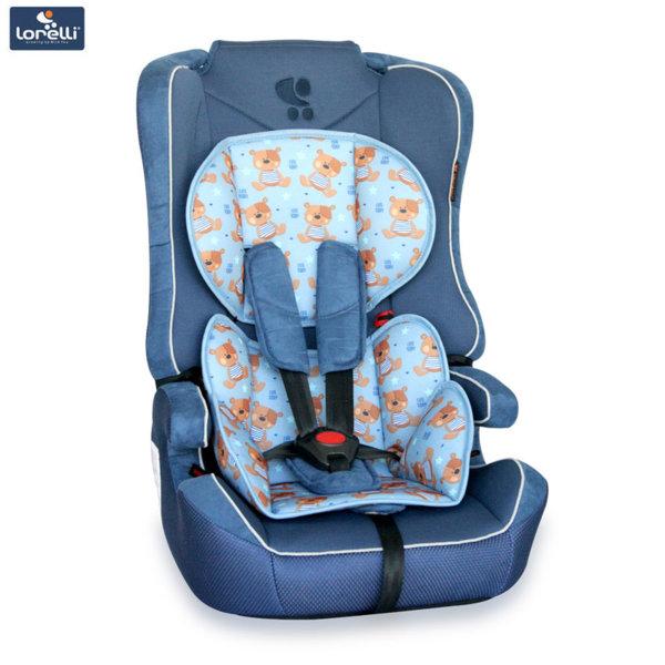 Lorelli - Стол за кола EXPLORER BLUE CUTE BEARS (9-36kg) 10070891859