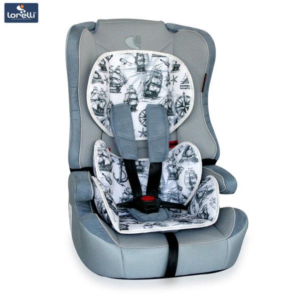 Lorelli - Стол за кола EXPLORER BLUE MAPS (9-36kg) 10070891861