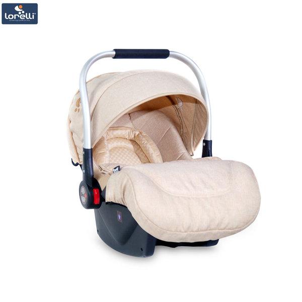 Lorelli - Столче кошница за кола DELTA с покривало за крачета BEIGE (0-13kg) 10071051840