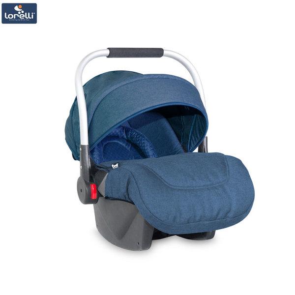 Lorelli - Столче кошница за кола DELTA с покривало за крачета BLUE (0-13kg) 10071051842