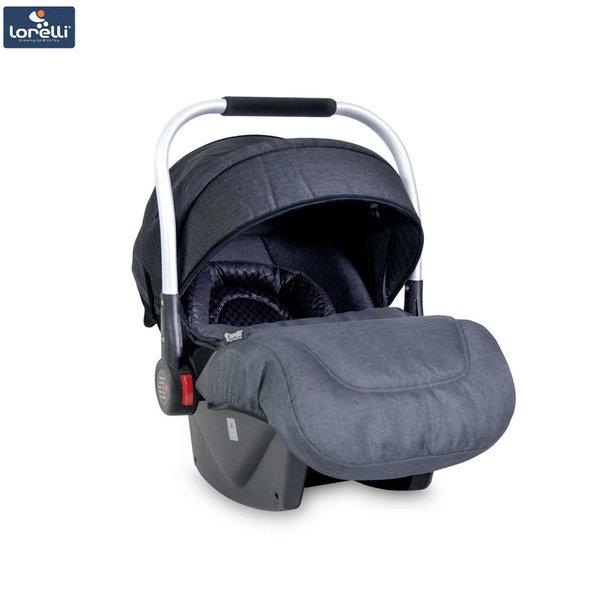 Lorelli - Столче кошница за кола DELTA с покривало за крачета BLACK (0-13kg) 10071051857