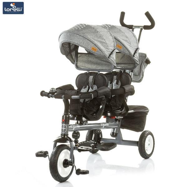 Chipolino - Триколка за близнаци Аполо пепел TRKAP0181AS