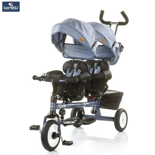 Chipolino - Триколка за близнаци Аполо синьо индиго TRKAP0183BI