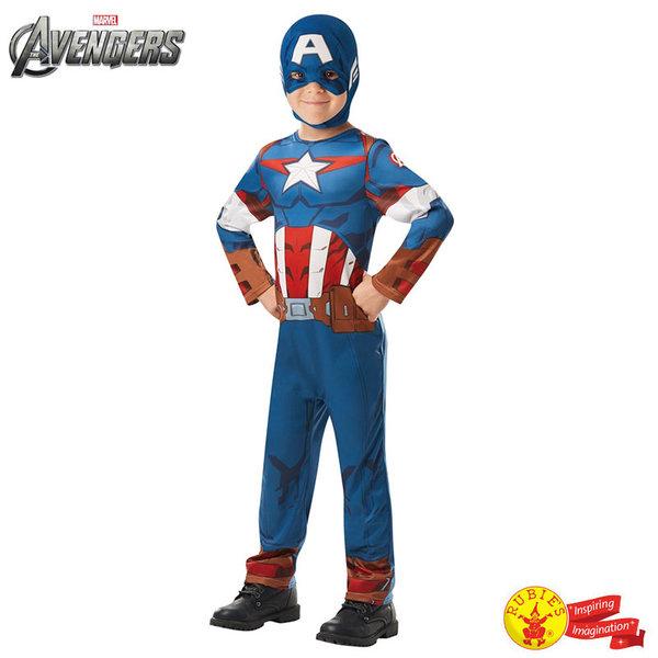 1Детски карнавален костюм Капитан Америка 640832