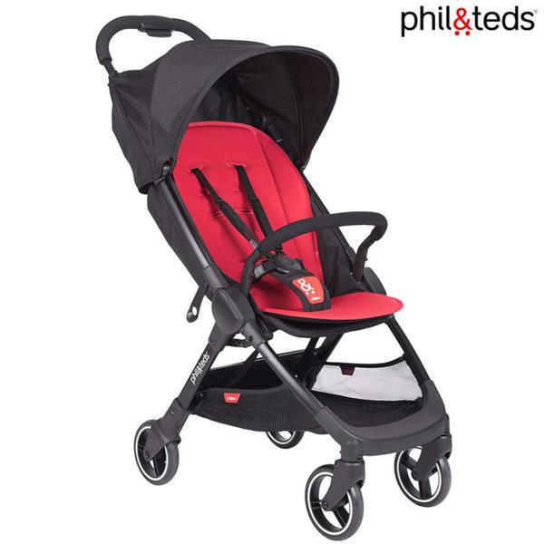 Phil & Teds - Детска количка GO Cherry PT-0237