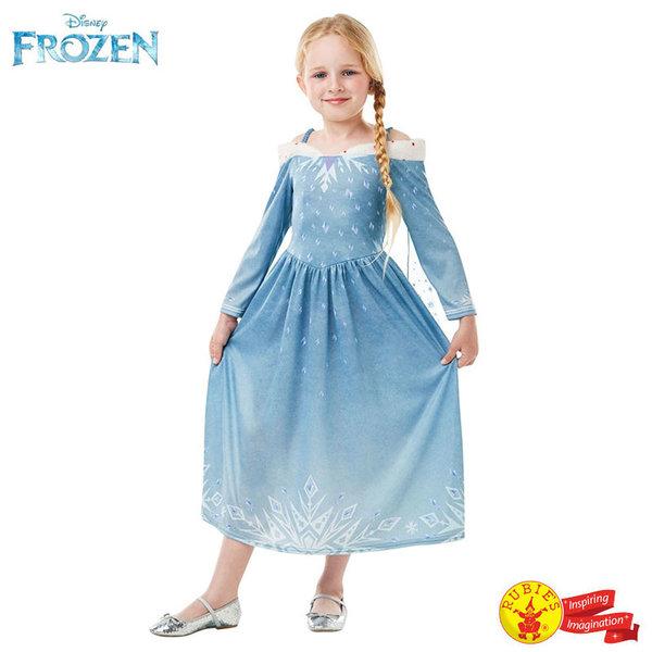 1Детски карнавален костюм Disney Frozen Приключенията на Елза 640764