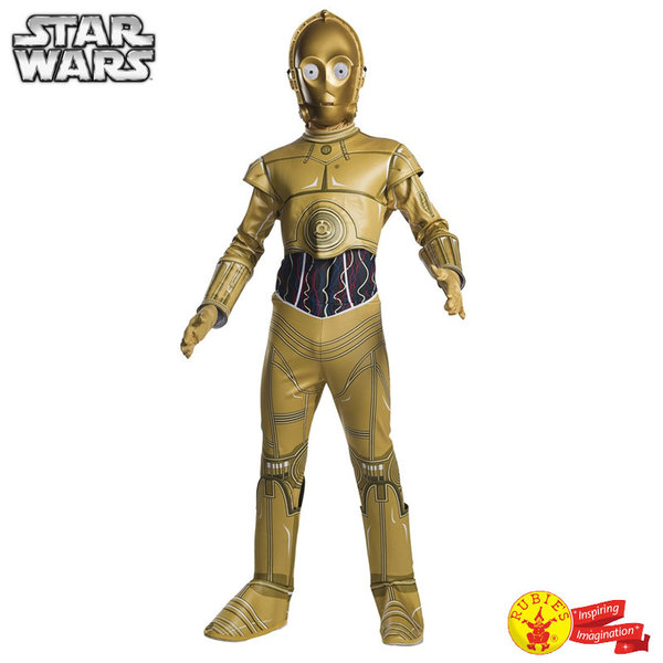1Детски карнавален костюм Star Wars C-3PO 640557