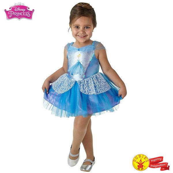 1Детски карнавален костюм Disney Принцеса Пепеляшка балерина 640178