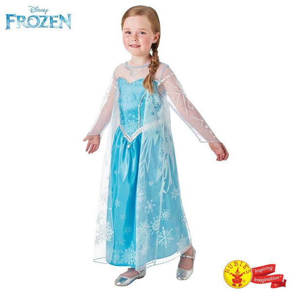 1Детски карнавален костюм Disney Frozen Принцеса Елза 630034