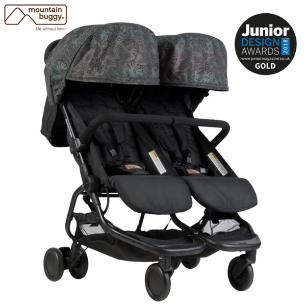 Mountain Buggy - Количка за близнаци Nano DUO Year Of Dog PT-0137