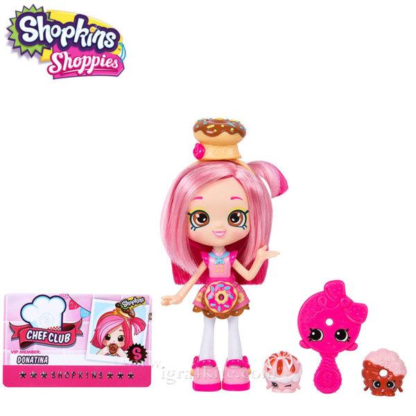 Shopkins Chef Club Shoppies - Кукла Donatina 56301