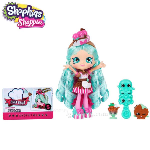 Shopkins Chef Club Shoppies - Кукла Peppa-Mint 56300