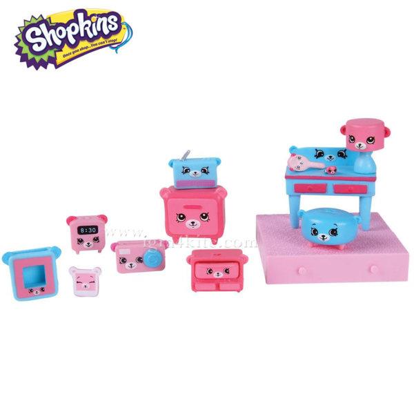 Shopkins Happy Places Decorator - Комплект декоратор Dreamy Bear 56195