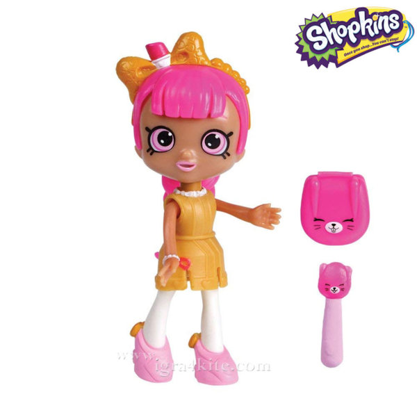 Shopkins Happy Places Lil Shoppie - Кукла Лил Шопее Lippy Lulu 56321