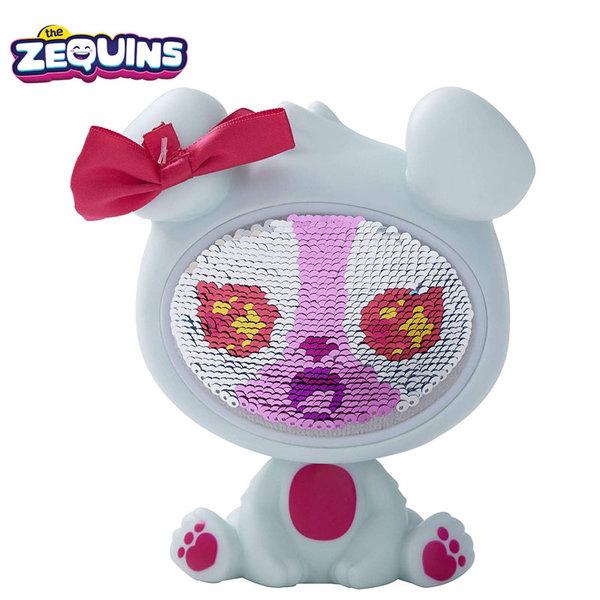 Zequins - Животинче с пайети променящи личицето Krystal ZQ001D2