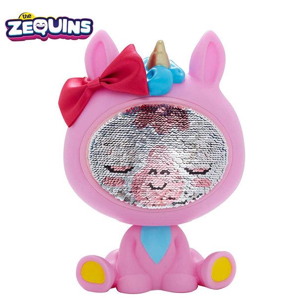 Zequins - Животинче с пайети променящи личицето Lumini ZQ001D2
