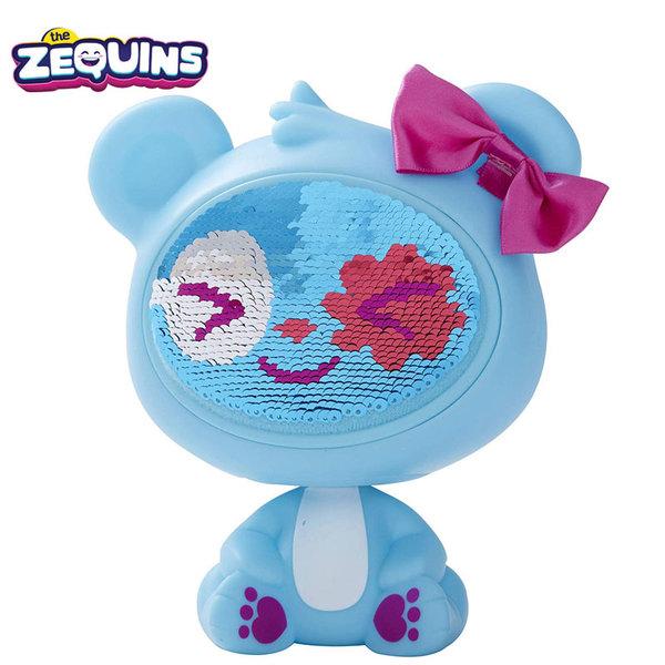 Zequins - Животинче с пайети променящи личицето Spark ZQ001D2