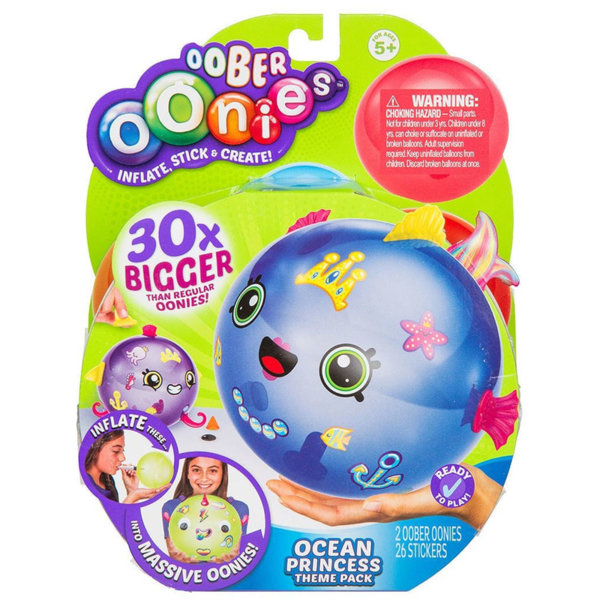 Oober Oonies - Балончета за декориране Ocean Princess 19934