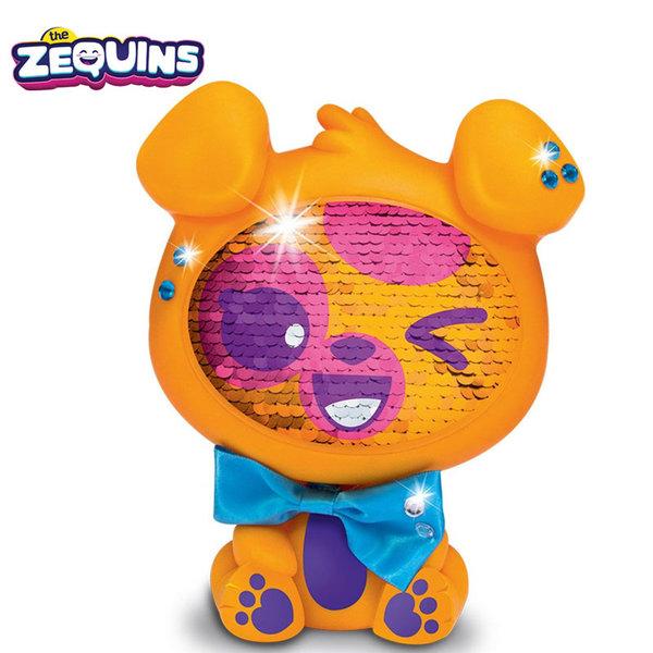 Zequins - Животинче с пайети променящи личицето Blinger ZQ002D2