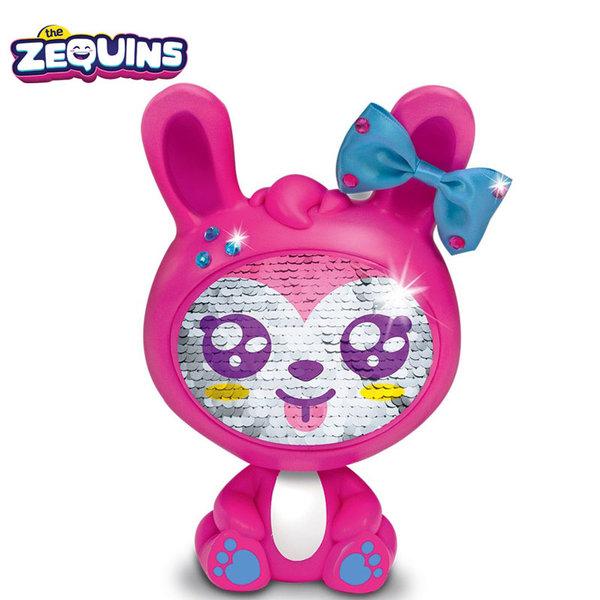 Zequins - Животинче с пайети променящи личицето Gemi ZQ002D2
