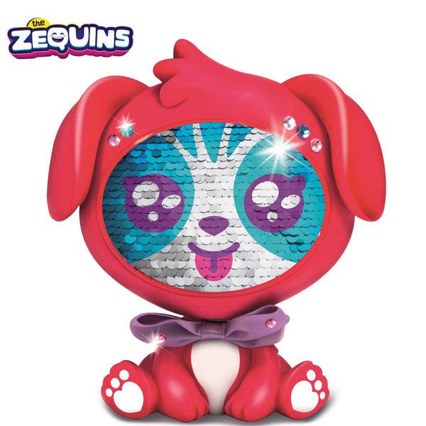 Zequins - Животинче с пайети променящи личицето Ruby ZQ002D2