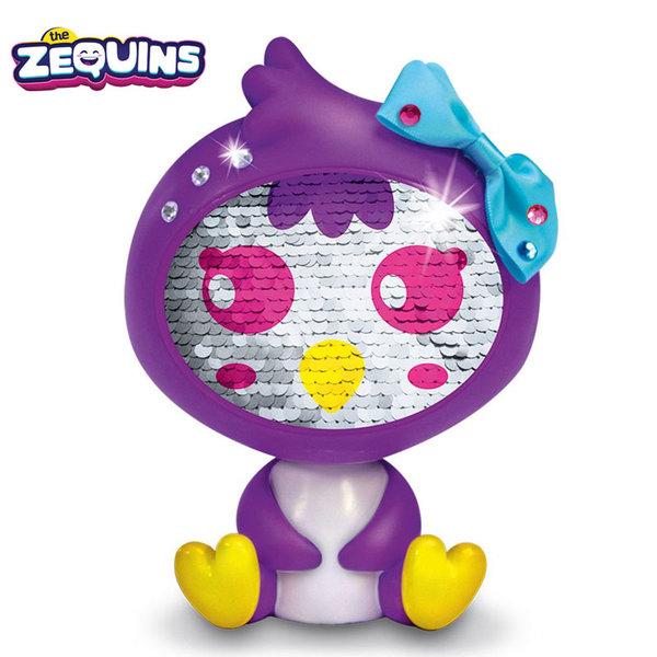Zequins - Животинче с пайети променящи личицето Zinga ZQ002D2