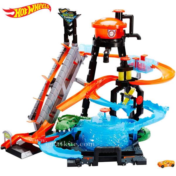 Hot Wheels City - Автомивка с алигатор Ultimate Gator Car Wash FTB67