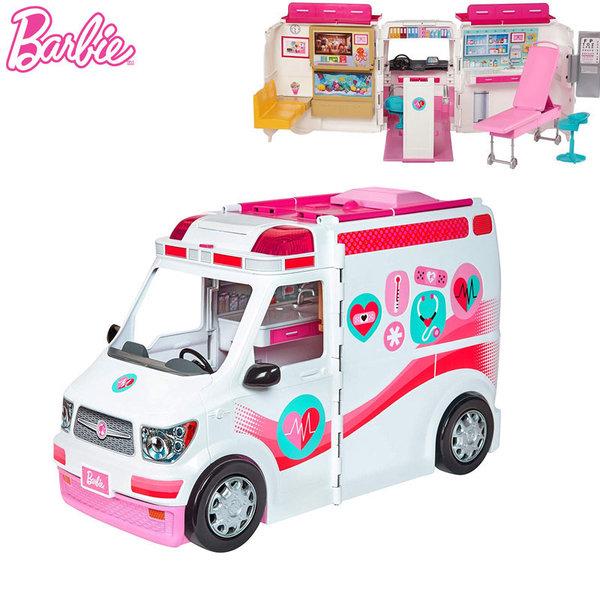 Barbie - Барби Линейка и медицински център 2в1 FRM19