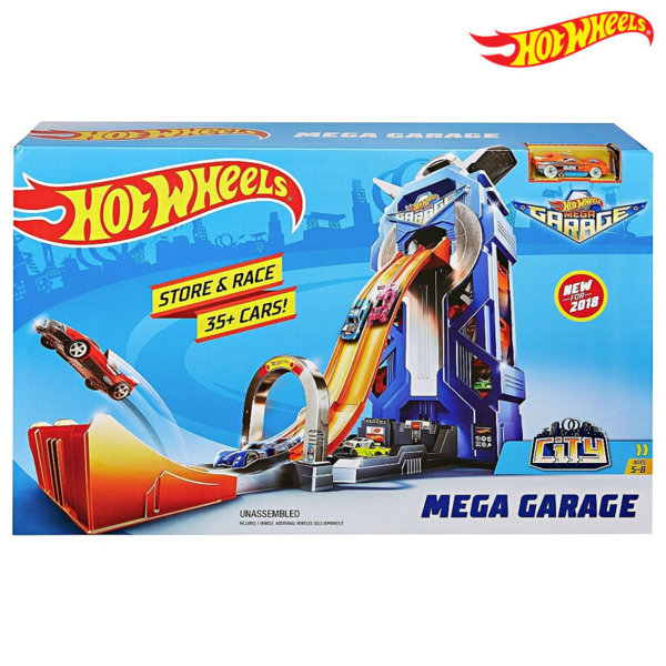 Hot Wheels City - Мега гараж FTB68
