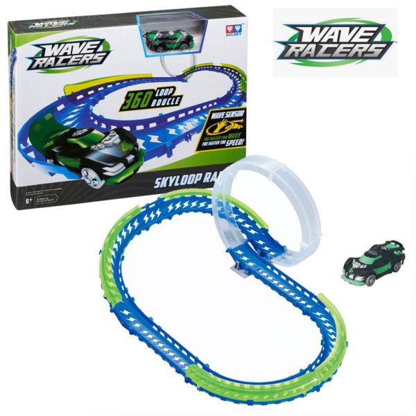 Wave Racers - Писта с кола със сензор за движение Skyloop Rally 211131