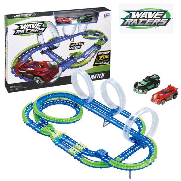 Wave Racers - Писта с две коли със сензор за движение Mega Match 211135