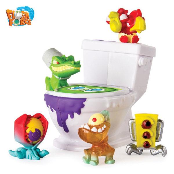 Flush Force - Тоалетна чиния с 5 фигури 6037315