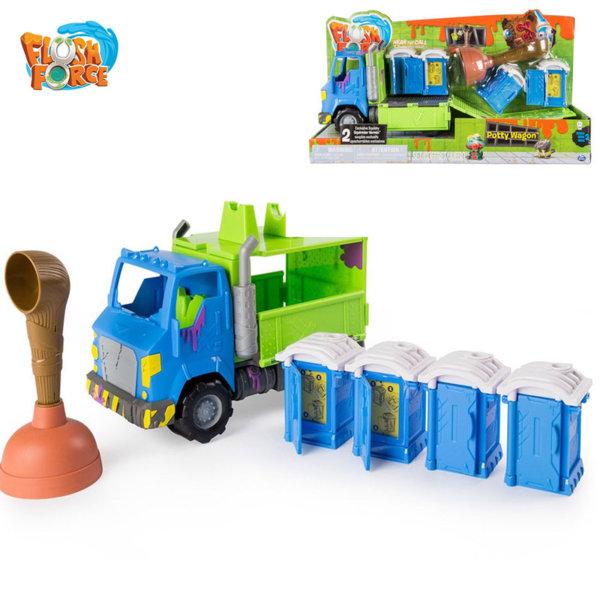 Flush Force - Камион Potty wagon 6037333