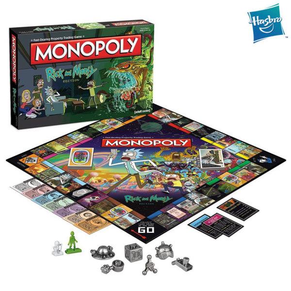 Hasbro Monopoly - Монополи Рик и Морти WM02701