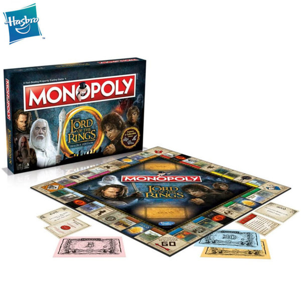 Hasbro Monopoly - Монополи The Lord of the Rings WM01618