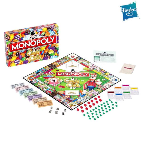 Hasbro Monopoly - Монополи Candy Crush WM28417