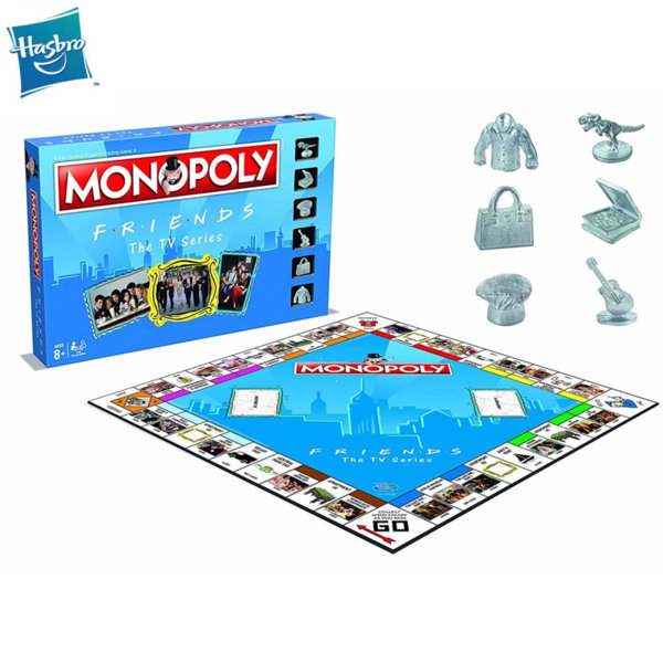 Hasbro Monopoly - Монополи Приятели WM27229