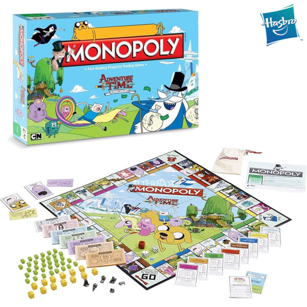 Hasbro Monopoly - Монополи Време за приключения WM21487