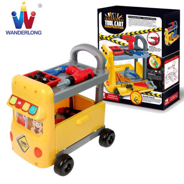 Wanderlong - Детска количка с инструменти 6973422