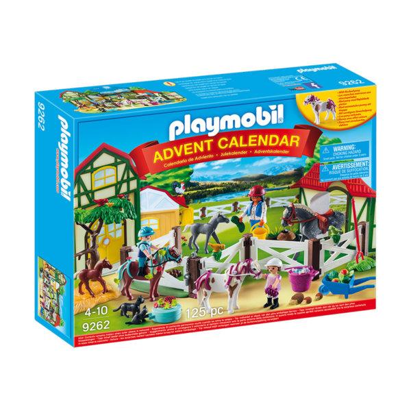 Playmobil - Коледен календар Ферма за коне 9262