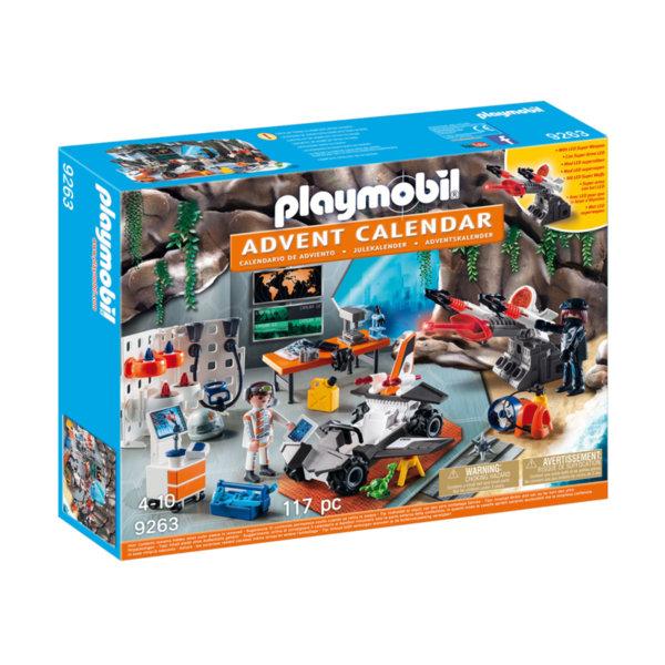 Playmobil - Коледен календар Топ Агенти 9263