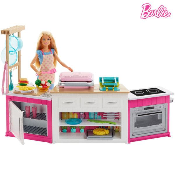 Barbie - Кукла Барби в кухнята FRH73
