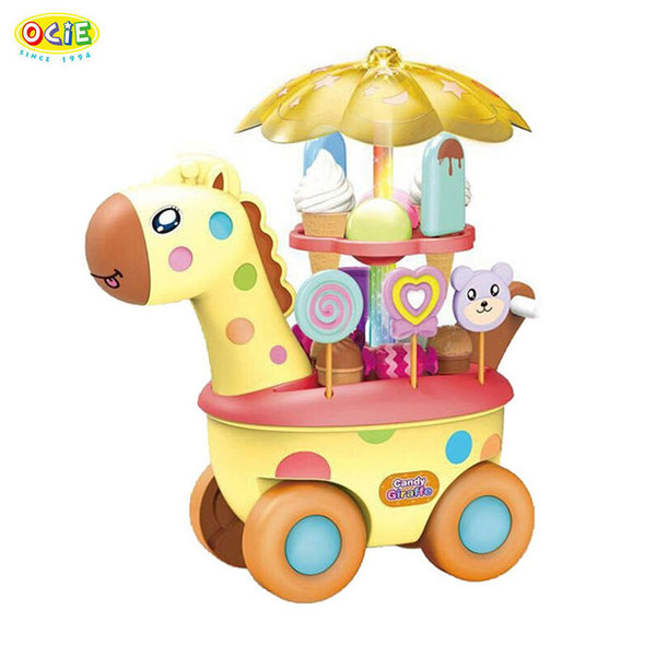 Ocie Детска сладкарница Жирафче на колела 0637960